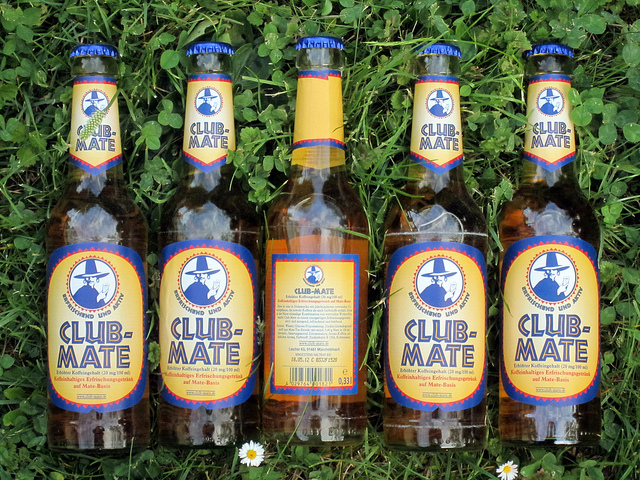 Llegó Club-Mate a Chile y te regalamos un pack ; )