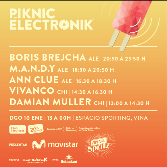 PIKNIC ÉLECTRONIK PLAYA #2