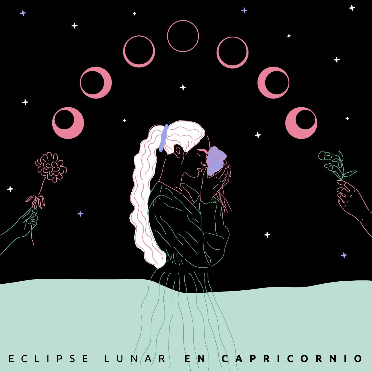 hola eclipse parcial en capricornio